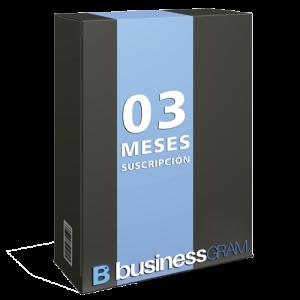 Pack 3 Meses BusinessGram for Instagram