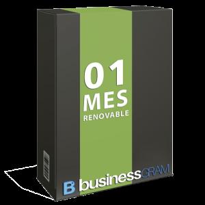 Businessgram 1 mes renovable